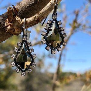 Kendra Scott Juniper Pyrite earrings